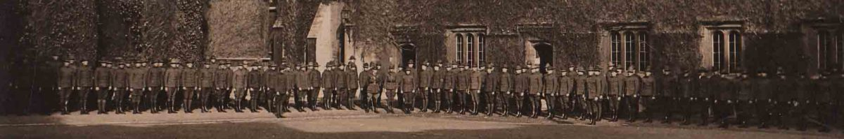 The Men of the Second Oxford Detachment